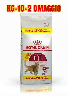 Royal Canin Fit Kg.10 + 2 Omaggio
