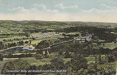 OLCOTT from Bald Hill Connecticut Valley Vermont US 1901-7 H C Leighton Postcard