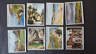 Churchman HOLIDAYS IN BRITAIN (Views) 1908 - 23/48 Cigarette Cards PART SET