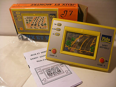game & watch Wide hand Screen electronic jeu electronique BARRY GRIFOUILLE FIDO