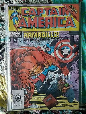 Captain America #308 - 1st appearance of Armadillo (NM)
