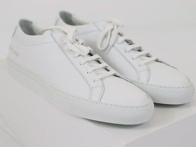 NEW COMMON PROJECTS ACHILLES ORIGINAL LOW White Leather 44 EU