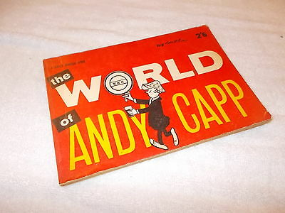 Paperback Book Andy Capp - The World of Andy Capp 1961
