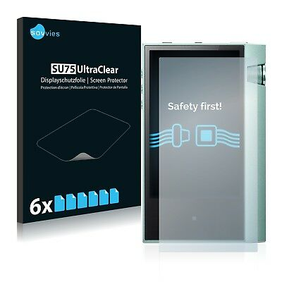 6x Savvies Films Protection ecran pour Astell&Kern AK70 Protecteur