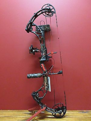 New 2017 Pse Vendetta Vx Rh 50-70# Bow Package Skullworks 2 Camo 342 Fps
