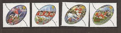 Tonga 2002 Rugby Sevens   Mnh Set Of  Stamps