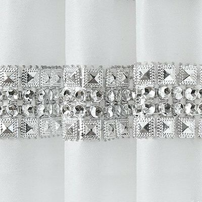 Exclusive Home Bling Winter White Window Panels NEW Set 2 38x84 Rhinestone