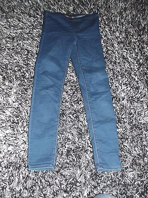 Ladies Maternity Jeans From Topshop Waist 8 Leg 30 Must See !!!