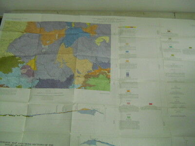 """Geologic Map and Cross Sections of the Istarú Quadrangle, Costa Rica, 28"""" x 40"""""""