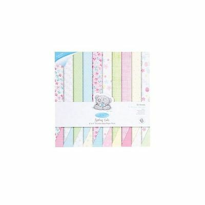 Docrafts Me To You 6X6 DOUBLE SIDED PAPER PACK 160g (50 Blatt) - SPRING CHIC