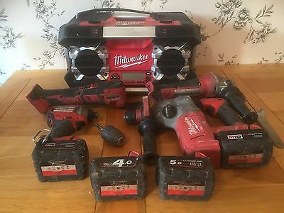 Milwaukee Tool Set  Used But In Excellent Working Order