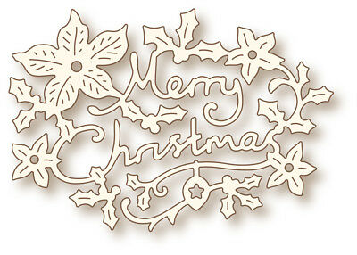 Wild Rose Studios Specialty Stanzschablone - Christmas Greeting