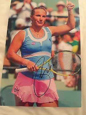 Svetlana Kuznetsova Hand Signed 12X8 Photo