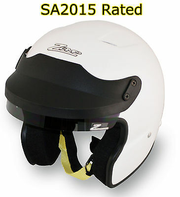 ZAMP - JA-3 SA2015 Open Face Auto Racing Helmet - HANS Snell Rated SCCA AutoX