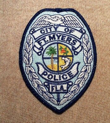 FL Ft. Myers Florida Police Patch