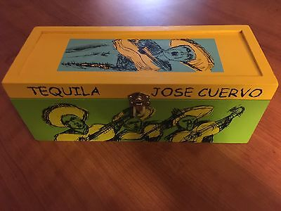 2001 Collector Box Jose Cuervo Tequila Reserva de la Familia - In Good Condition