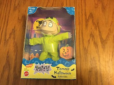 1998 Nickelodeon Rugrats Tommy Halloween Collectible Figure Mattel NEW IN BOX