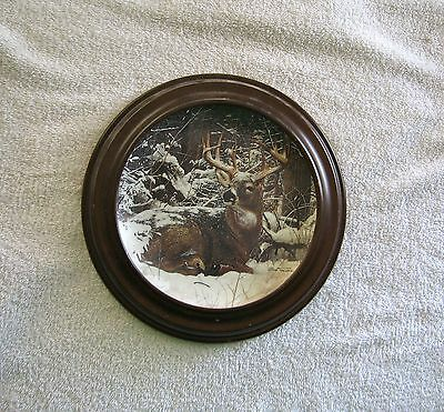 1992 Winter Stag BY Bob Travers Pride of the Wilderness Danbury Mint.
