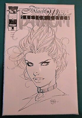 Top Cow Classics in Black and White Fathom Dynamic Forces Sketch Variant Comic