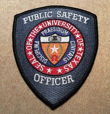 TX University of Texas Public Safety Officer Patch