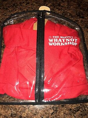 Brand New Muppets Whatnot Workshop FAO Schwarz Red Hoodie Sweatshirt