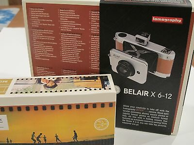 Belair X 6-12 Jetsetter Camera with two lenses, 35mm Back, Film tested