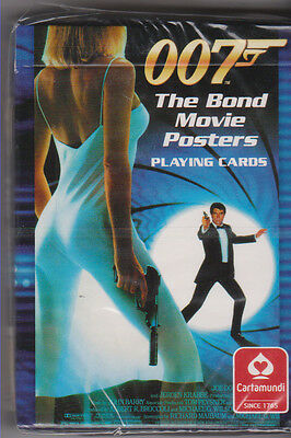 James Bond Movie Posters Playing Cards From 2008