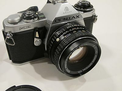 Pentax ME  35mm SLR Film Camera with SMC-M 50mm f2 lens, Tested