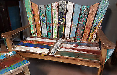Recycled Timber Adirondack Cape Cod Sofa Bench Chair