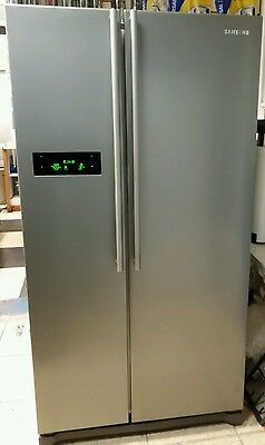 Samsung RSH1NHMH American Fridge Freezer in silver with 3 months guarantee