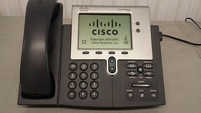 Lot of 10 Cisco Unified IP Phone CP-7941G 7941 display VoIP Office Phone