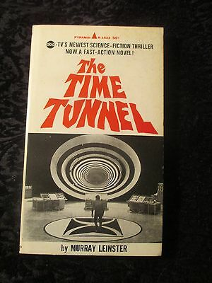 """Vintage 1967 TV show tie-in pb book """"The Time Tunnel"""" Murray Leinster"""