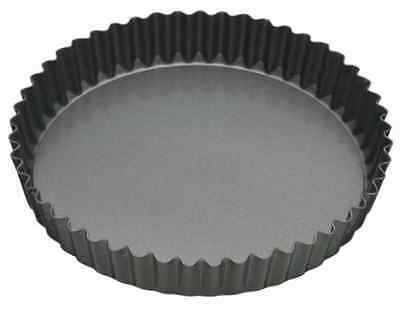 Master Class Fluted Flan Tin/Quiche Pan with Loose Base - 20 cm 8 inch