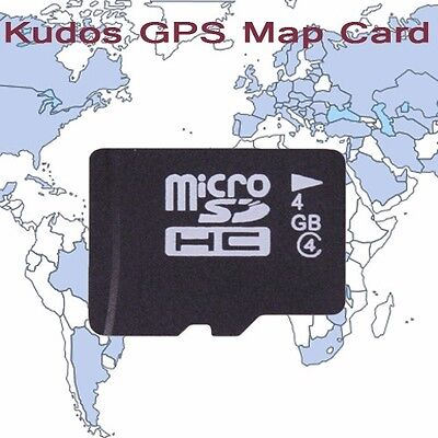 KUDOS GPS Navigation Map Card (TF Card, for Wince System)