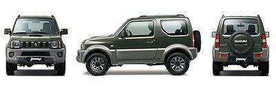 Suzuki Jimny Workshop Repair Service Technical Manual 1998 - 2009