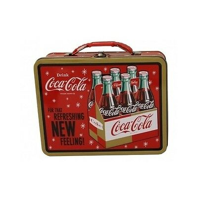 Coca Cola Products Lunch Boxes For Adults Kids Boys Metal School Hard Coke