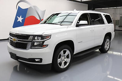 2015 Chevrolet Tahoe LT Sport Utility 4-Door 2015 CHEVY TAHOE LT SUNROOF NAV DVD HTD LEATHER 71K MI #518308 Texas Direct Auto