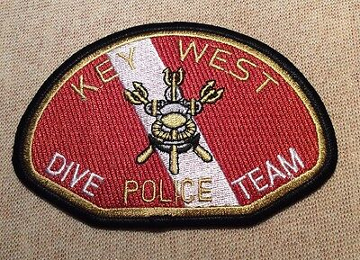 FL Key West Florida Dive Team Police Patch