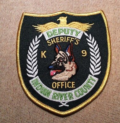 FL Indian River County Florida K9 Sheriff Patch