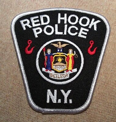 NY Red Hook New York Police Patch