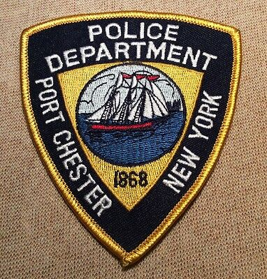NY Port Chester New York Police Patch