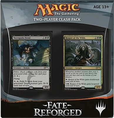 Magic the Gathering  Fate Reforged: 2-Player Clash Pack English