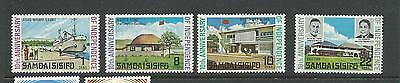 1972 10th Anniversary of Independence Set 4 Complete MUH/MNH SG 378 - 381