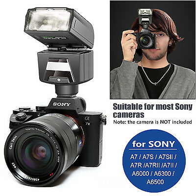 Neewer TTL HSS Slave Flash Speedlite with LED Video Light for Sony A7 A7S