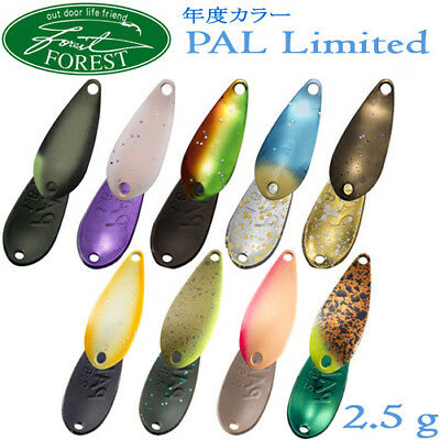 Assorted Colors FOREST PAL LIMITED 2.5 gr Trout Spoon