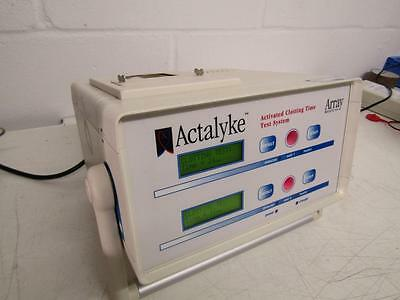 Actalyke Activated Clotting Time Test System By Array Medical.