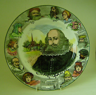 Royal Doulton Plate Collectors Series Wear Edition Shakespear Decorative Gallery
