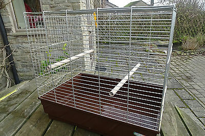 Bird cage for budgie, small parrot etc - medium size