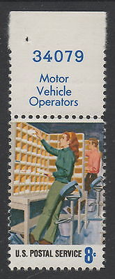 USA Postal Services -Numbered MNH