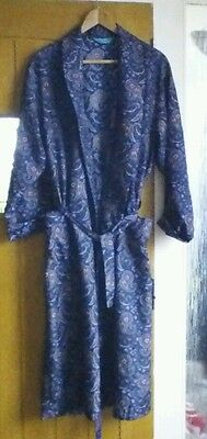 Vintage mens dressing gown